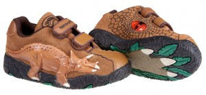 3D Triceratops - Light Brown